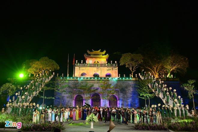 Festival Ao dai Ha Noi 2016 anh 1