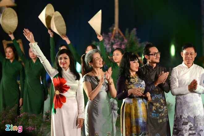 Festival Ao dai Ha Noi 2016 anh 4