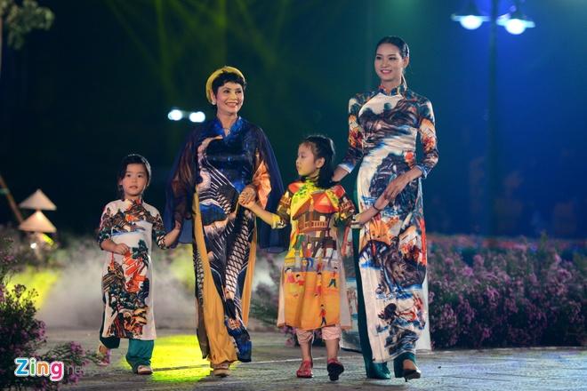 Festival Ao dai Ha Noi 2016 anh 10