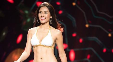 Nguyen Thi Loan truot top 10 Hoa hau Hoa binh Quoc te hinh anh