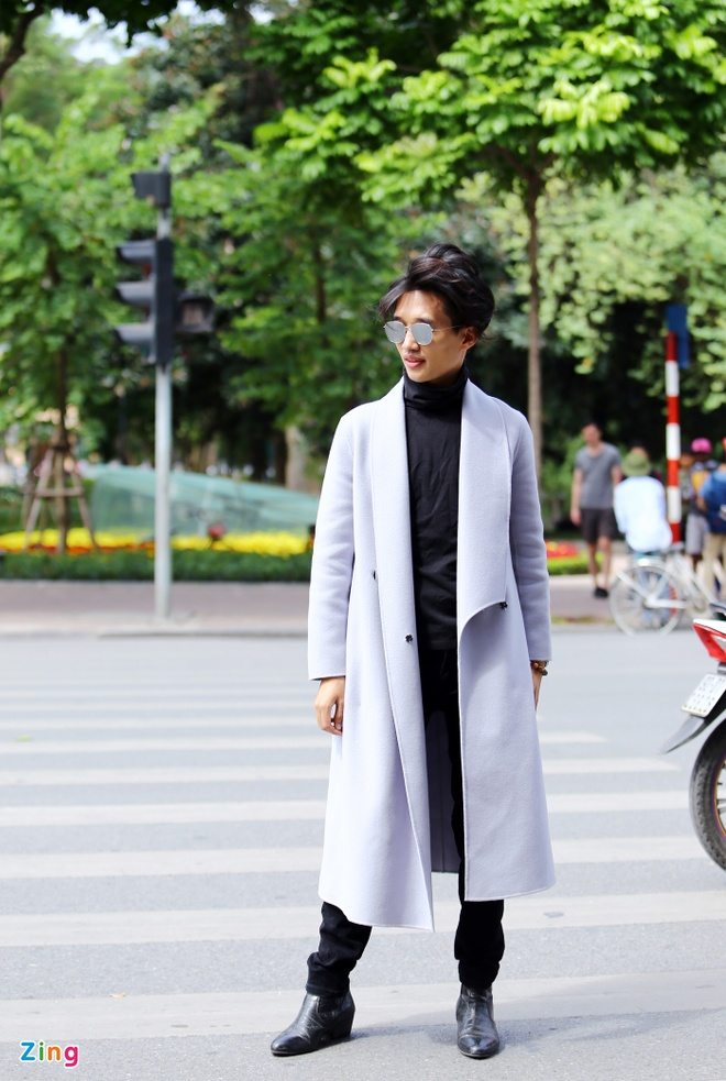 Street style thu dong doi lap cua gioi tre Viet hinh anh 11