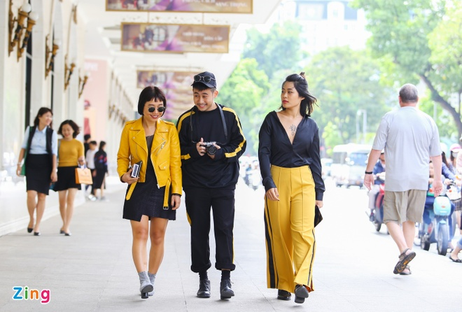 Street style thu dong doi lap cua gioi tre Viet hinh anh 5