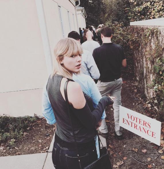 Lady Gaga, Taylor Swift di bau cu tong thong My hinh anh 2