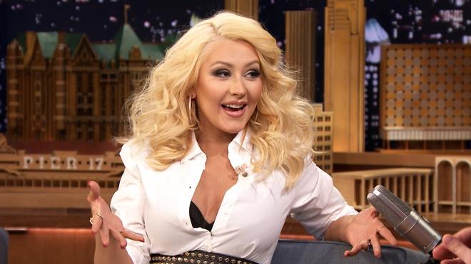 Christina Aguilera khoe vua hoc tieng Viet hinh anh 2
