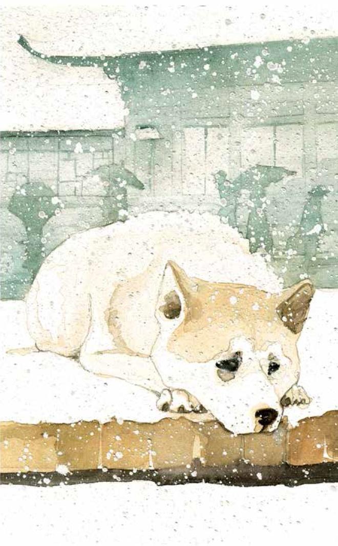 Hachiko - Chu cho cho doi: Bieu tuong cua tinh ban mai mai hinh anh 3