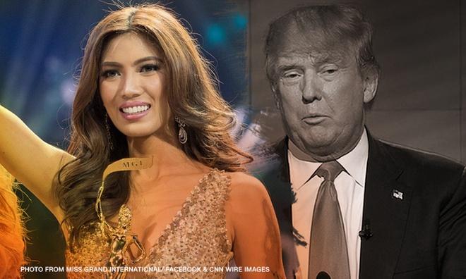 Hoa hau Philippines Donald Trump anh 1