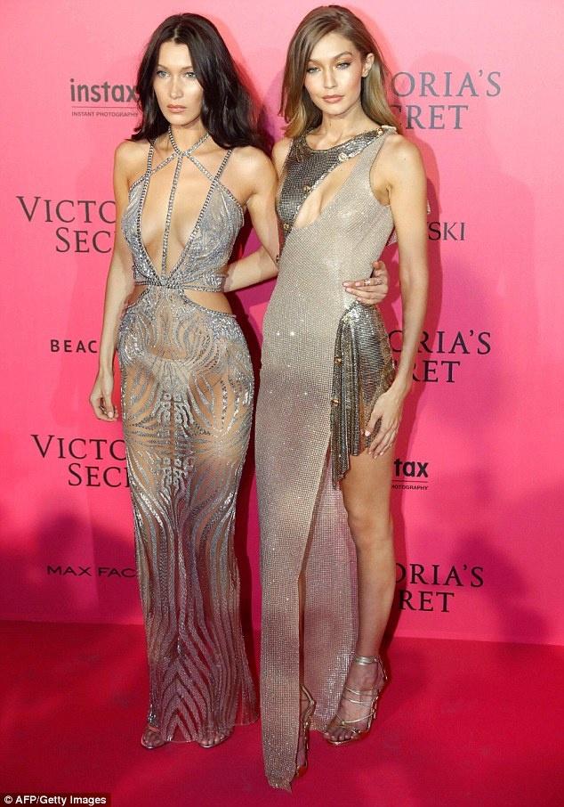 Bella Hadid mac phan cam o tiec Victoria's Secret 2016 hinh anh 1