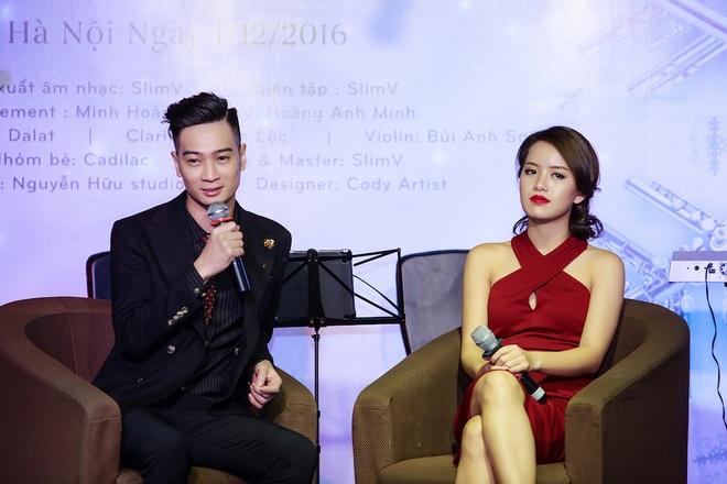 Ban gai Slim V Huyen Trang anh 2