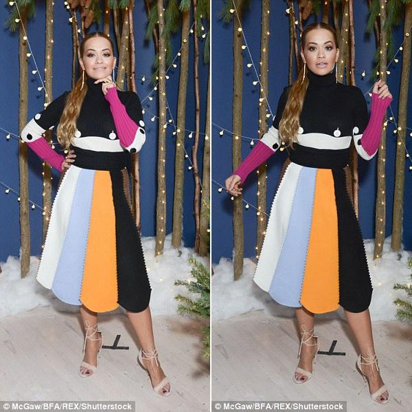 Rita Ora thay 5 trang phuc sanh dieu trong mot ngay hinh anh 7