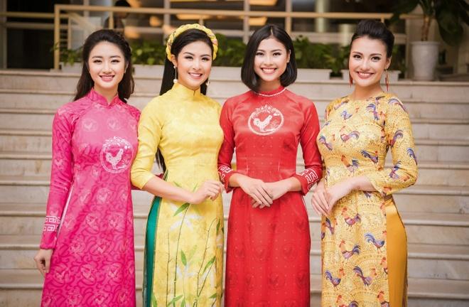 Hoa hau Ban sac Viet Thu Ngan anh 2
