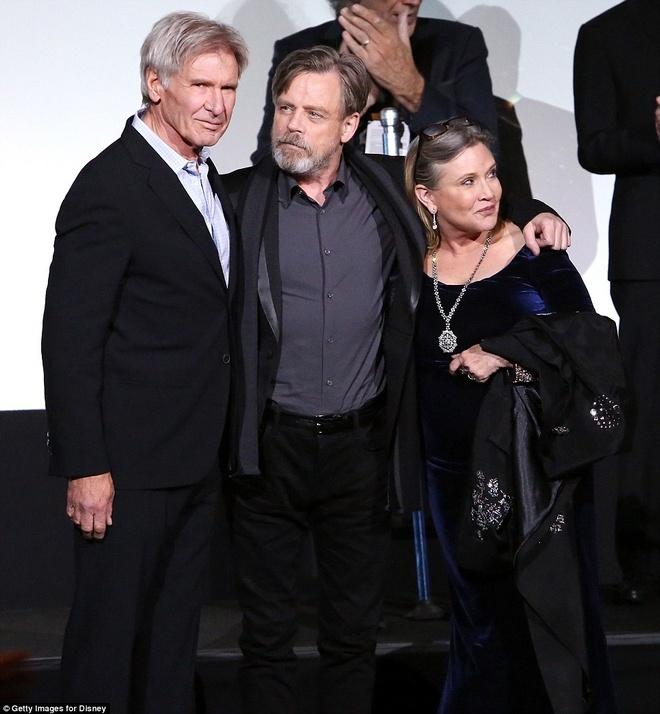 Dien vien Star Wars Carrie Fisher qua doi anh 1
