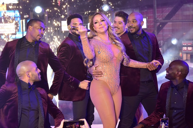 Mariah Carey hat nhep anh 1