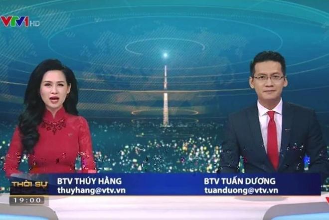 BTV Tuan Duong tam dung dan ban tin Thoi su 19h hinh anh