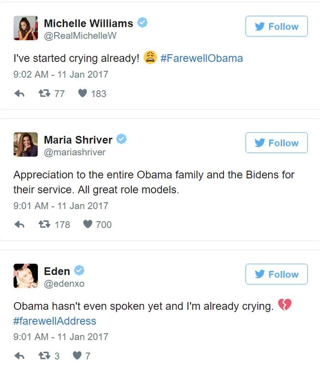 Barack Obama phat bieu chia tay anh 2