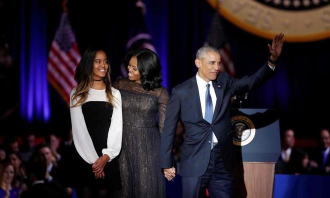 Barack Obama phat bieu chia tay anh 1