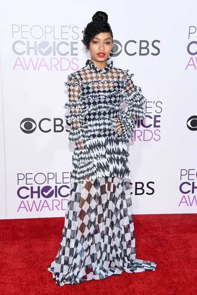 Jennifer Lopez mac dep nhat tham do People's Choice Awards hinh anh 11