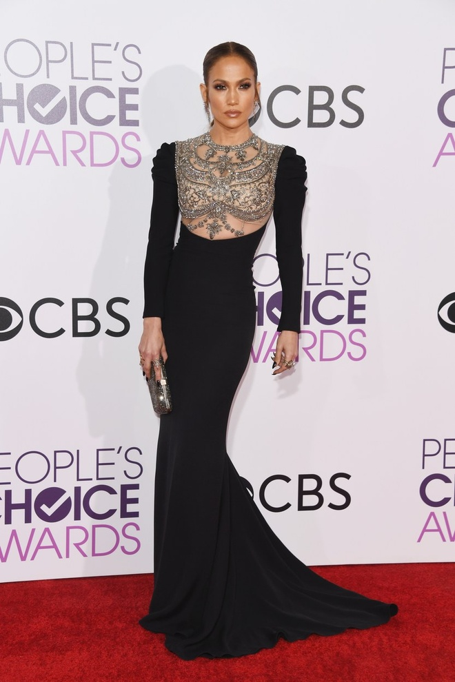 Jennifer Lopez mac dep nhat tham do People's Choice Awards hinh anh 1