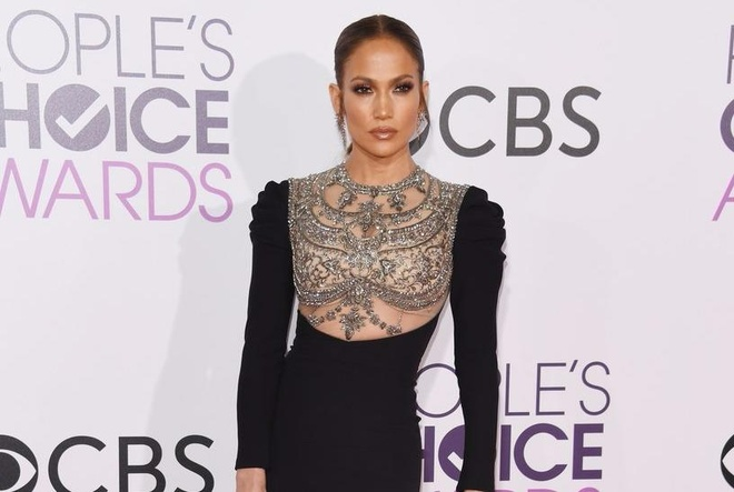 Jennifer Lopez mac dep nhat tham do People's Choice Awards hinh anh
