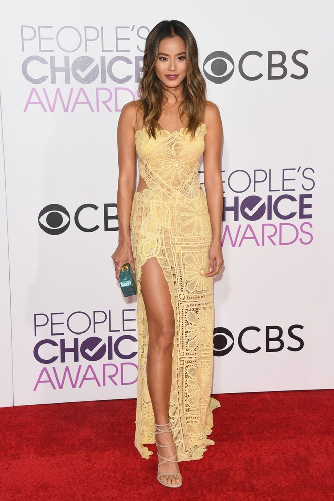 Jennifer Lopez mac dep nhat tham do People's Choice Awards hinh anh 5