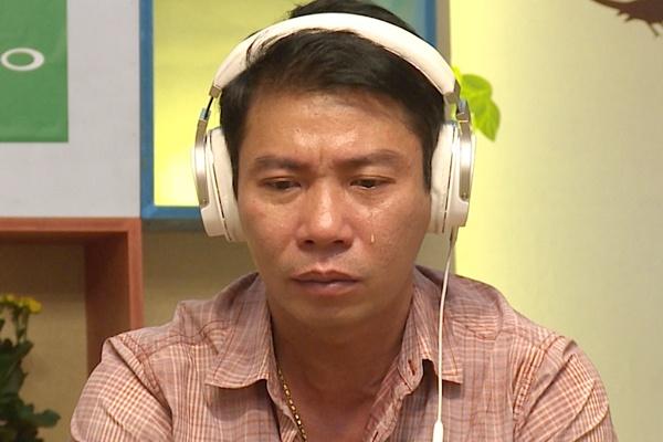 Cong Ly roi nuoc mat khi cha noi ve chuyen ly hon Thao Van hinh anh