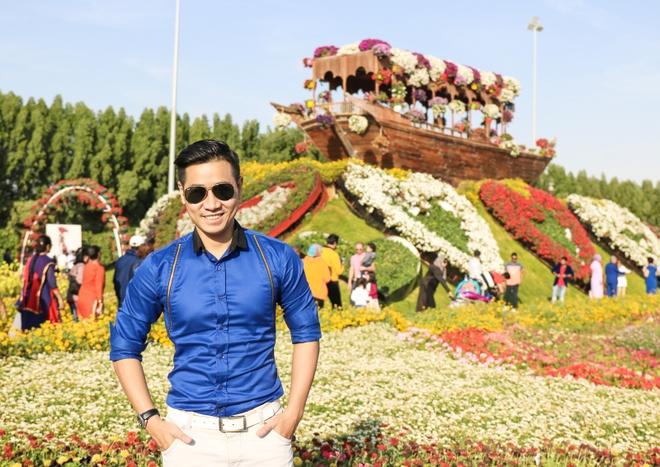 MC Nguyen Khang o Dubai anh 2