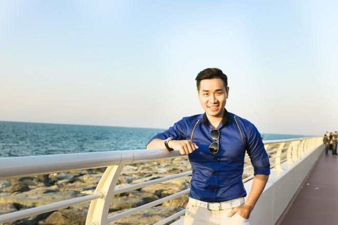 MC Nguyen Khang o Dubai anh 1