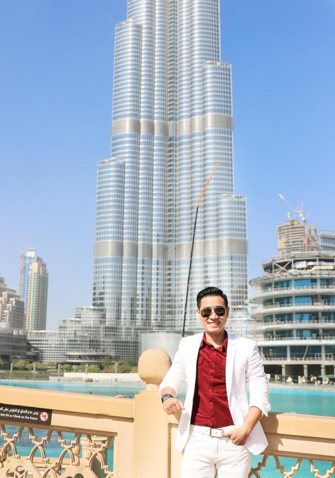 MC Nguyen Khang o Dubai anh 3