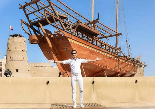 MC Nguyen Khang o Dubai anh 4