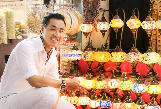 MC Nguyen Khang o Dubai anh 8