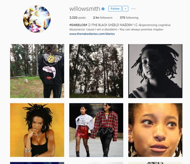 Willow Smith dang anh Chau Bui anh 1
