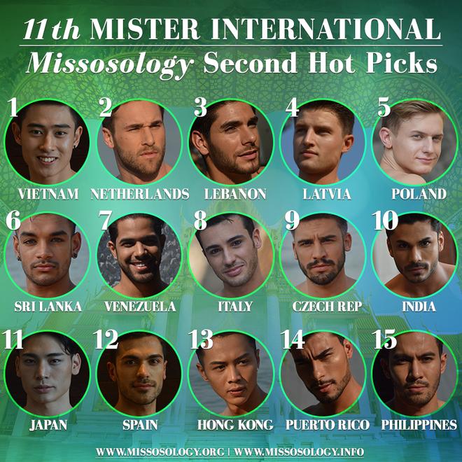 Tien Dat thi Mister International anh 2