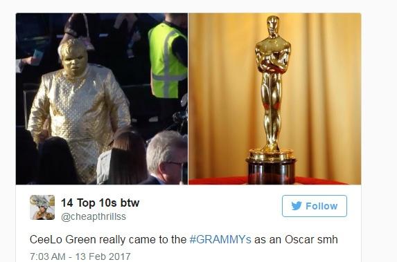 Nhung trang phuc gay soc nhat tham do Grammy 2017 hinh anh 2