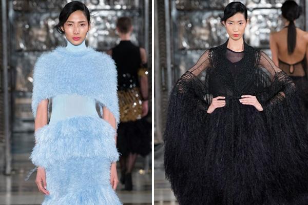 Hai nguoi mau Viet toa sang o ngay dau London Fashion Week hinh anh
