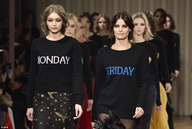 Chi em sieu mau 9X Gigi Hadid do bo Milan Fashion Week hinh anh 13