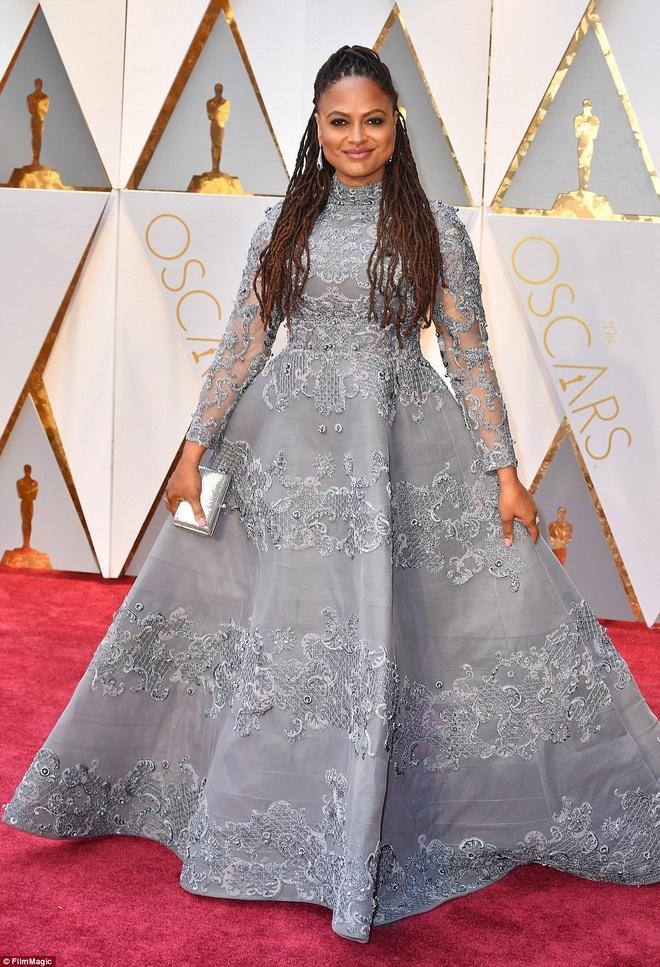 Nhung tham hoa thoi trang tai Oscar 2017 hinh anh 6