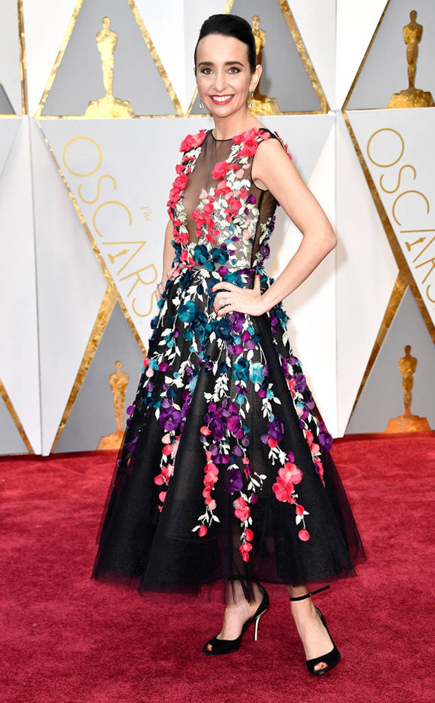 Nhung tham hoa thoi trang tai Oscar 2017 hinh anh 5