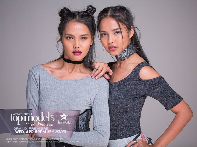 Cap mau song sinh gay chu y o Asia's Next Top Model 2017 hinh anh 1