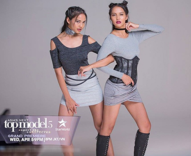 Cap mau song sinh gay chu y o Asia's Next Top Model 2017 hinh anh 5