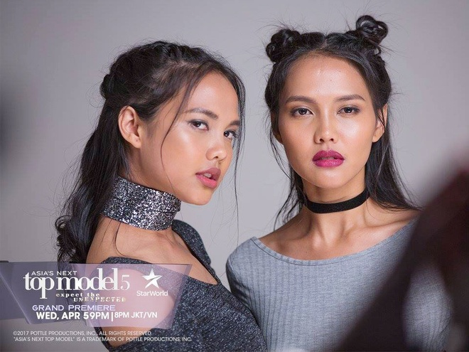 Cap mau song sinh gay chu y o Asia's Next Top Model 2017 hinh anh 2