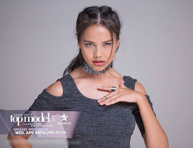 Cap mau song sinh gay chu y o Asia's Next Top Model 2017 hinh anh 4