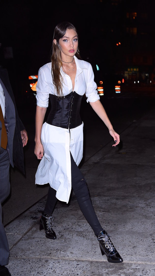 Chi em nha Kendall Jenner cuong mot corset hinh anh 7