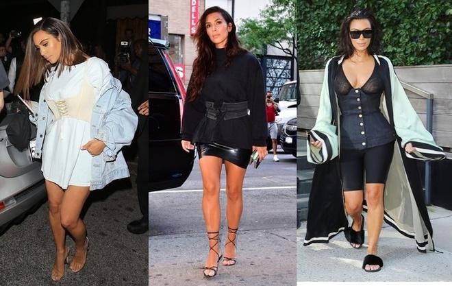 Image result for corset with kim kardashian