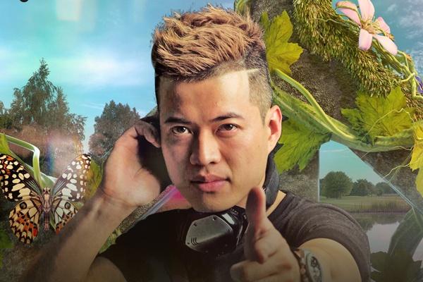 DJ Viet dung chung san khau voi DJ hang dau the gioi hinh anh
