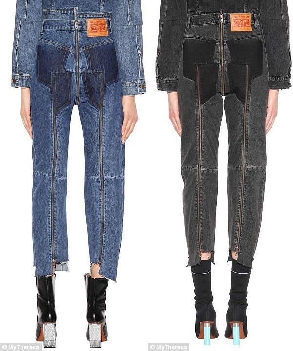 Vetements quan jeans anh 2