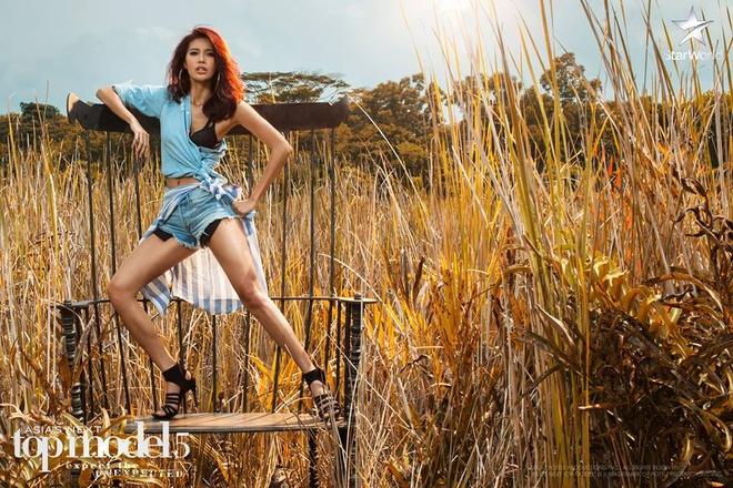 Minh Tu lai ngat xiu o Asia's Next Top Model hinh anh 1