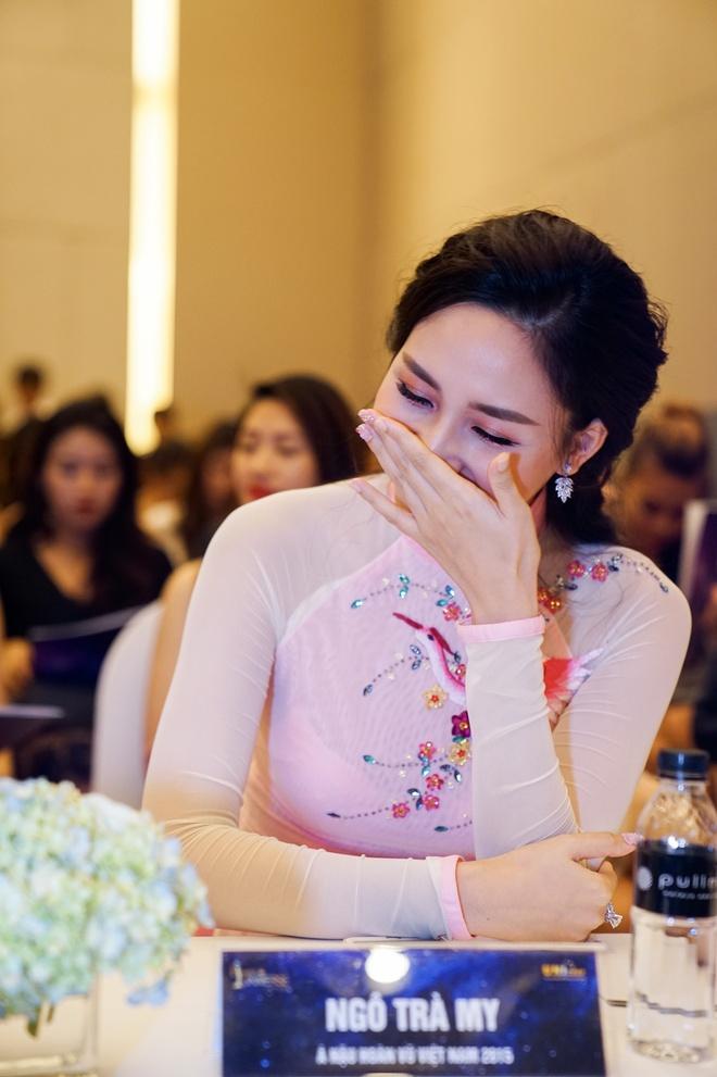 Pham Huong hoi ngo hai A hau Hoan vu Viet Nam 2015 hinh anh 3