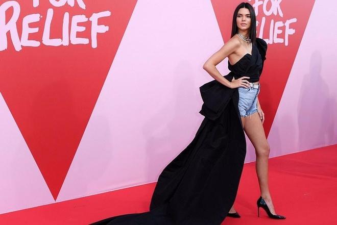 Kendall Jenner mac an tuong, lam lu mo cac sieu mau dan chi hinh anh