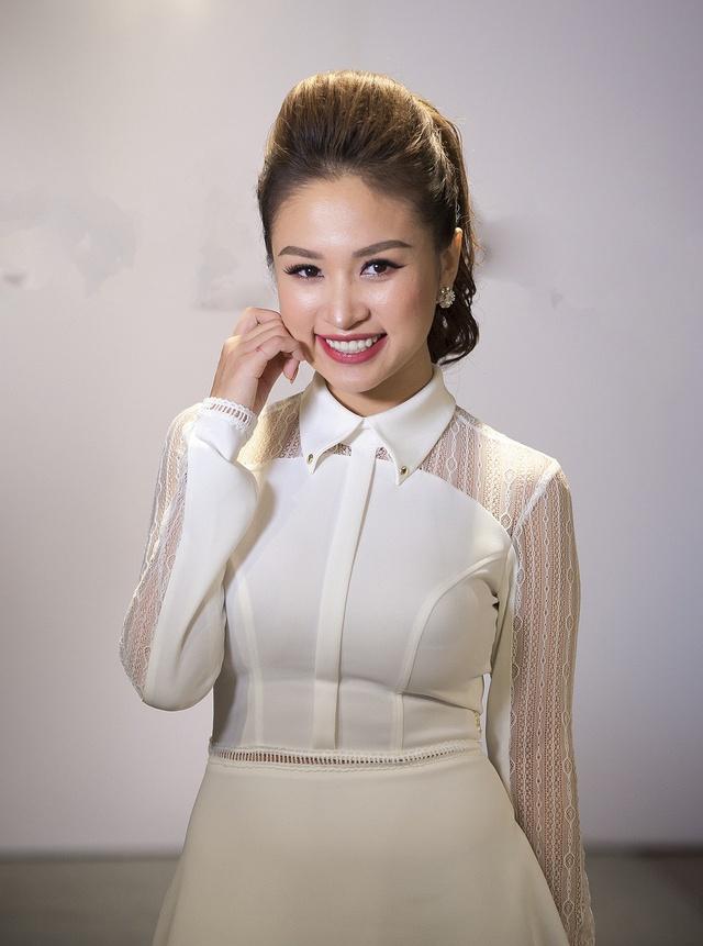 Diep Lam Anh, host The Face mac loi trang phuc tuan qua hinh anh 5