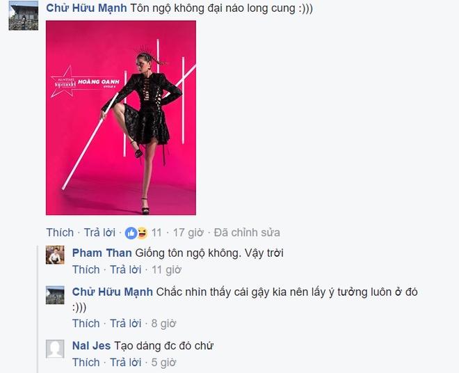 Vietnam's Next Top Model gay tranh cai voi anh poster chien binh hinh anh 2