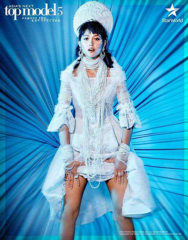 Minh Tu khong the vuon toi ngoi quan quan Next Top Model chau A 2017 hinh anh 3